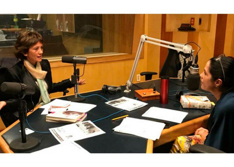 Entrevista a Ángeles Wolder en el programa de Martha Debayle