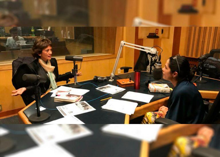 Martha Debayle entrevista a Ángeles Wolder