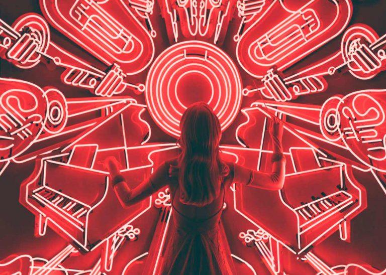 La música: fuegos artificiales