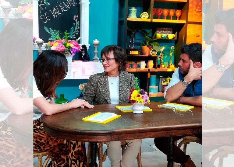 Entrevista en el programa Sale el Sol