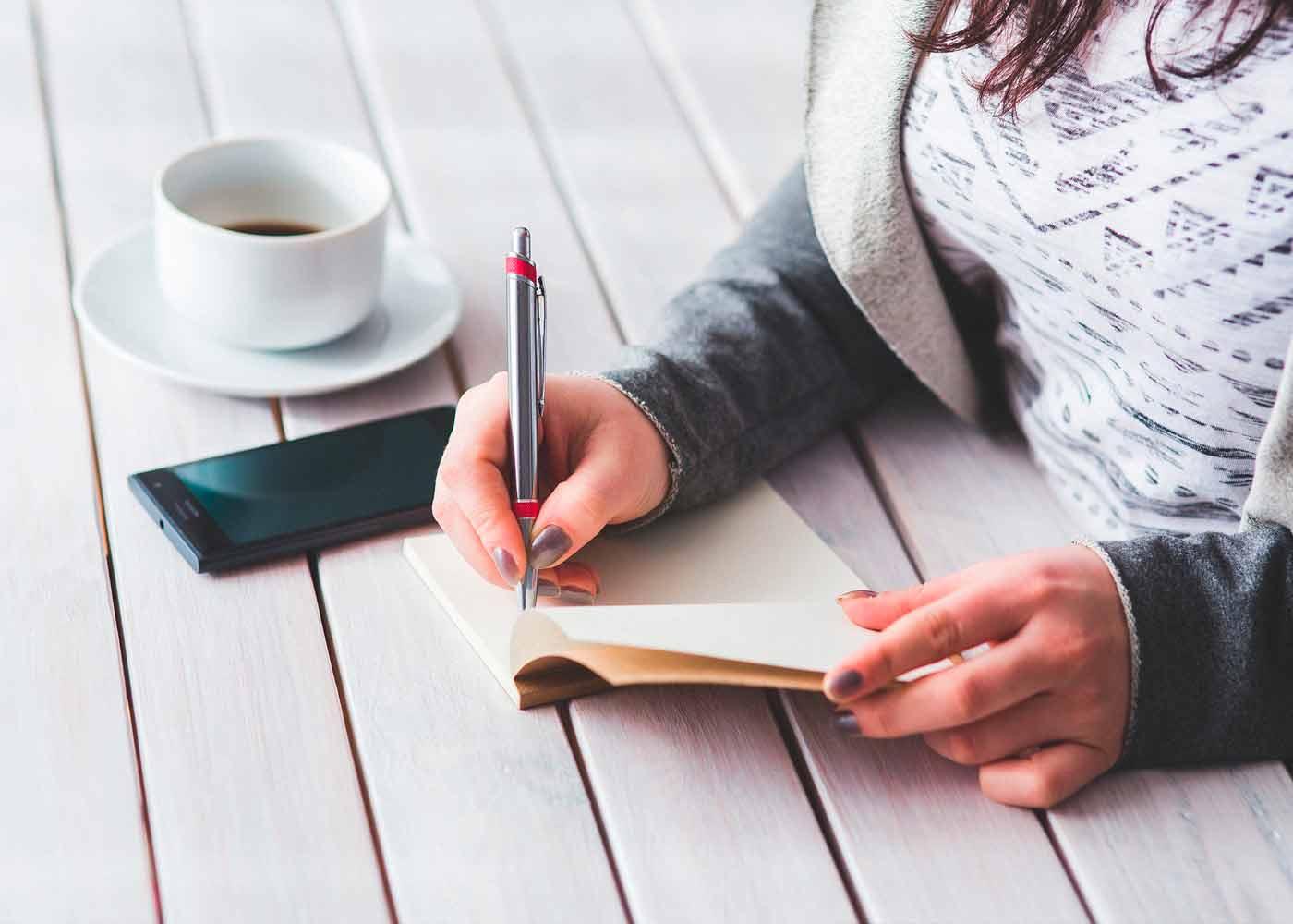 Escribir para sentirse mejor