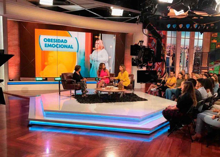 Ángeles Wolder descodifica el sobrepeso en Telemundo
