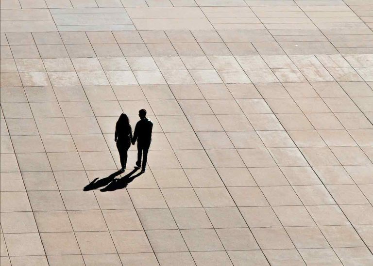 La sombra en la pareja