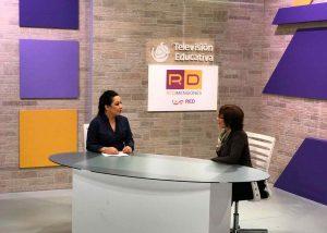 Ángeles Wolder en Televisión Educativa de México