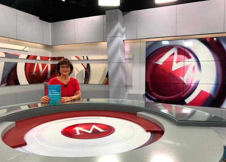Ángeles Wolder en Milenio TV en México